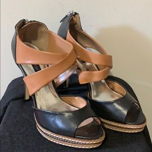 WHBM Peep toe shoes